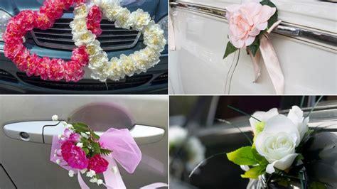 como decorar un carro para xv años c 243 mo decorar el coche para una boda hogarmania
