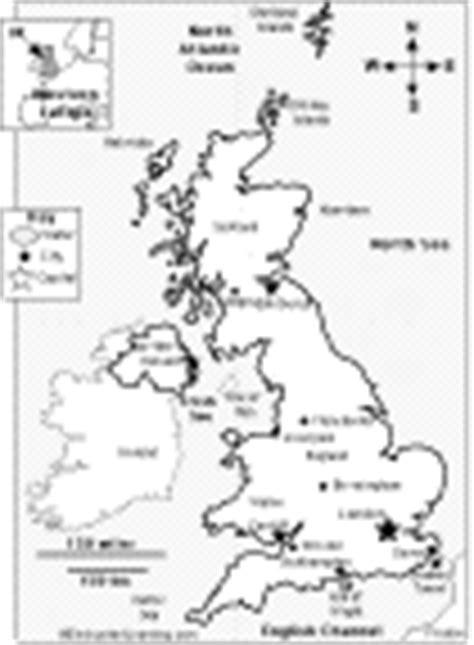 uk map coloring page united kingdom enchantedlearning com