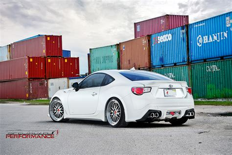frs car white scion fr s on bbs lm wheels rides styling