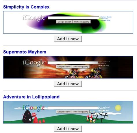 google themes history geek tip find igoogle themes in one convenient location