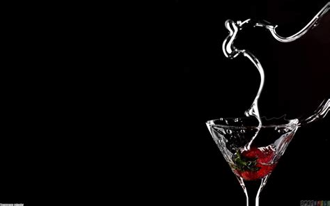 martini wallpaper best effect strawberry cocktail drink hd wallpapers photos