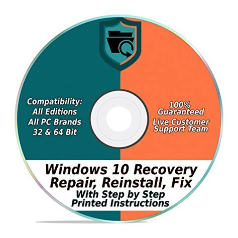 32bit 64bit Kaset Dvd Windows 10 All In One 32bit 64bit Selalu Ready windows 10 repair recovery disk pro home 32 64 bit