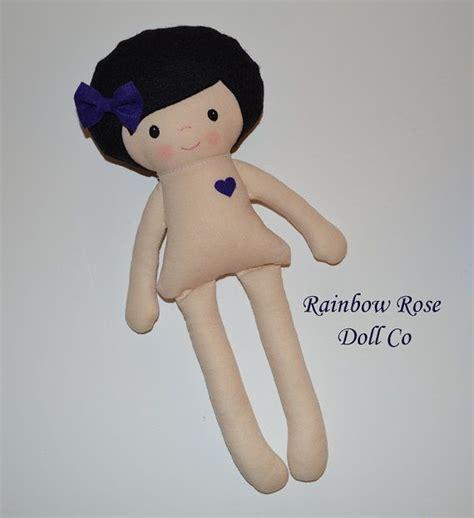 diy cute felt doll free sewing pattern and step by step cloth doll pattern pdf rag doll sewing by