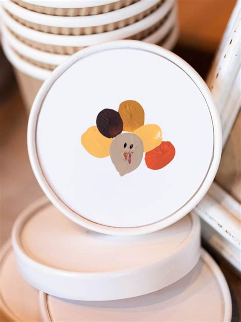 thanksgiving kids craft fingerprint turkey hgtv