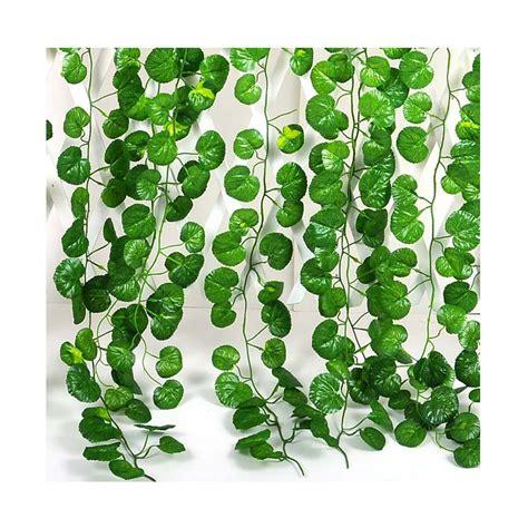 12pcs crabapple leaf artificial vine home wall hanging vine decorative foliage flower