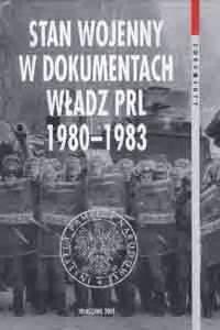 stan wojenny  dokumentach wladz prl  ksiazki
