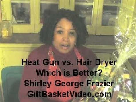 Heat Gun Vs Hair Dryer hair dryer vs heat gun doovi