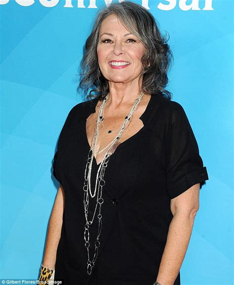 show me toseann barrs new blond hairdo roseanne barr looks skinny at event to promote new show