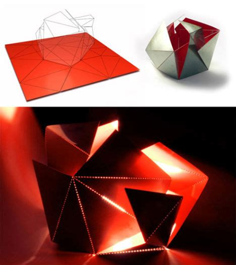 Origami Concept - unfolding interior design origami inspired furniture