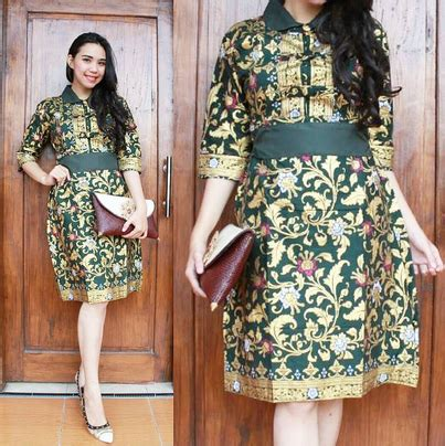 desain dress batik maduretno model dress batik pesta www pixshark com images