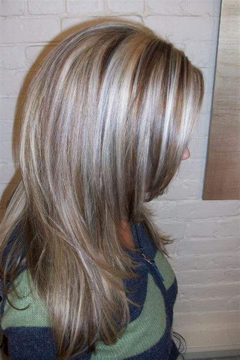 platinum blonde hair with black lowlights platinum highlights dark blonde highlights and lowlights