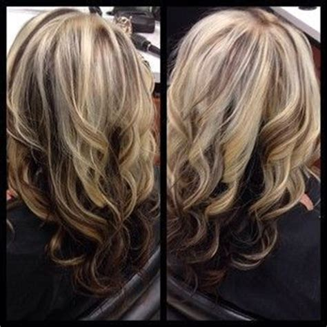 underlay hairstyles honey blonde with mocha brown underlay beauty