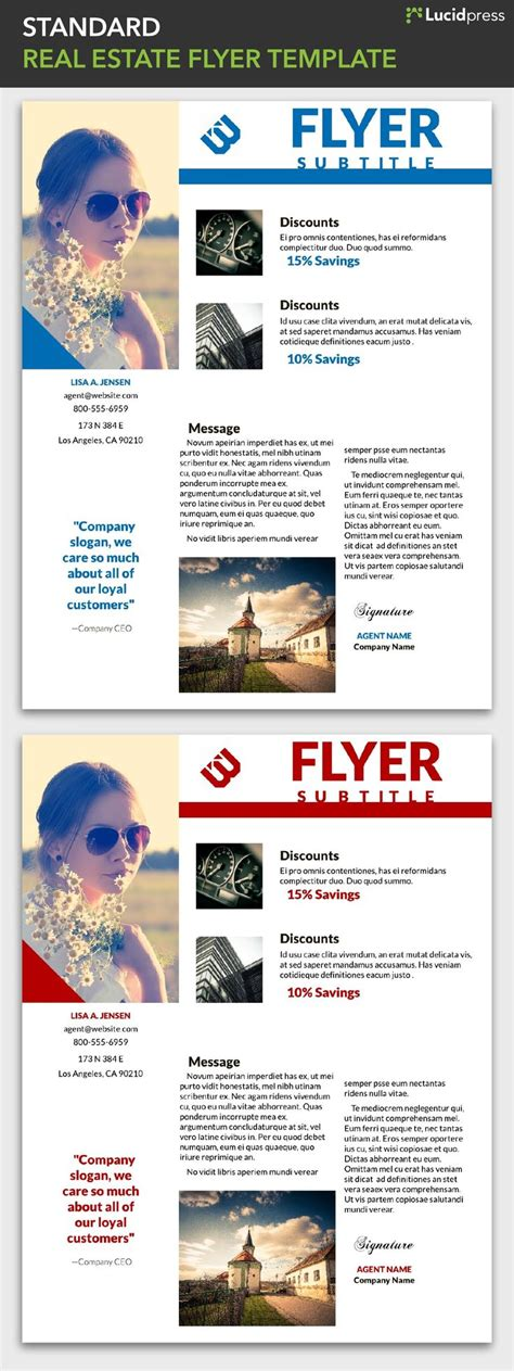 lucidpress flyer templates 34 best free flyer templates images on pinterest free