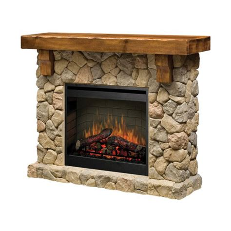 Dimplex Electric Fireplaces Clearance by Dimplex Fieldstone Electric Zero Clearance Fireplace