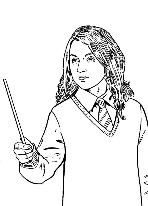 printable coloring pages harry potter luna lovegood coloring book pinterest luna lovegood