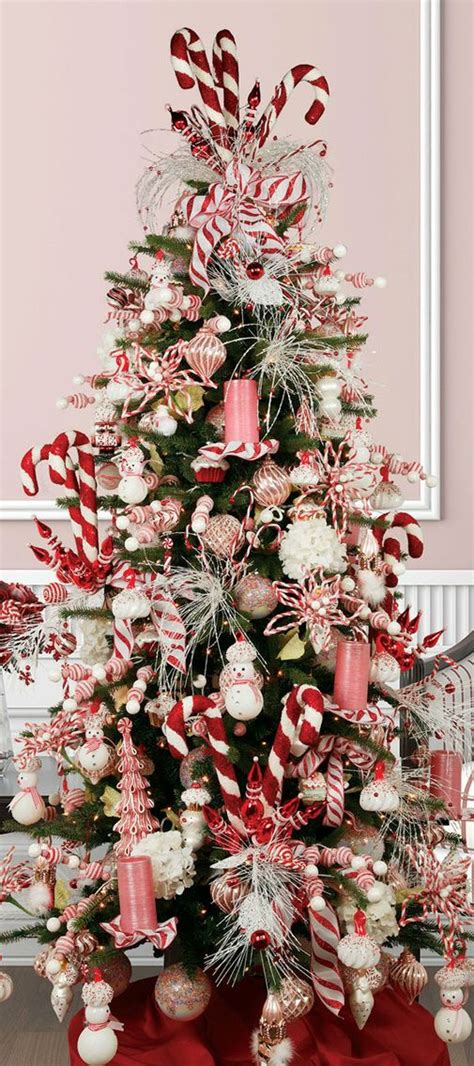 awesome ideas for candy cane christmas tree decoration