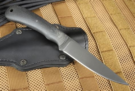 winkler knives winkler knives operator caswell and micarta leather sheath