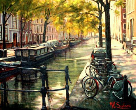 imagenes de pinturas urbanas imagenes de cuadros al oleo de paisajes urbanos sobre lienzo