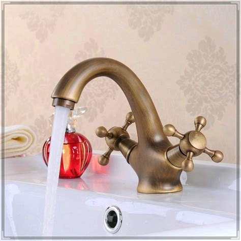 single basin double faucet bathroom sink factory tap bathroom faucet double handle sink mixer tap