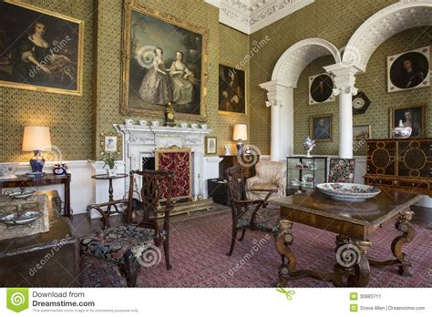 drawing room manor house editorial