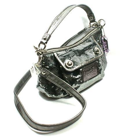 groovy swing coach poppy sequin groovy swing bag handbag 15381