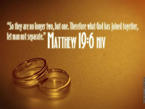 what god has joined together tattoo this verse for the wedding quot so they are no longer