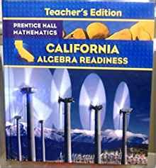 cã rtoga edition books california algebra readiness s edition randall