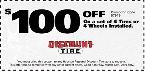 Affordable Ls Coupon 100 at discount tire saturday only coupon inside ls1tech camaro and firebird forum