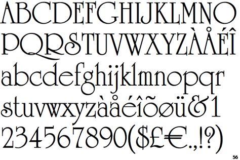 College Letter Font Name Identifont Ef
