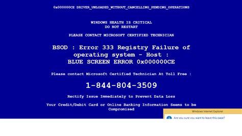 Background Check Alert Malware How To Avoid Quot Windows Virus Alert