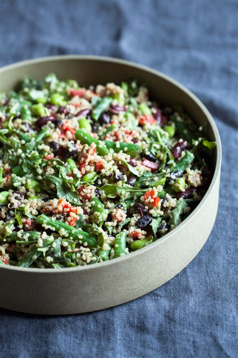 protein quinoa salad protein packed black and kidney bean quinoa salad