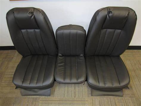 dodge truck seats aftermarket 72 93 dodge ram size truck v 200 black vinyl triway