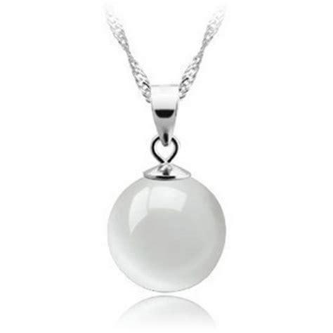 Kalung Wanita White white opal pendant 925 sterling silver kalung wanita white jakartanotebook
