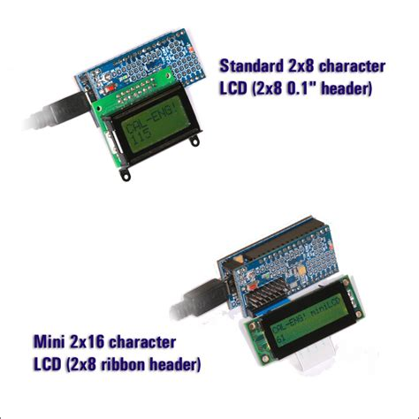 Lcd Mini breadboarder lcd mini shield cal eng electronics