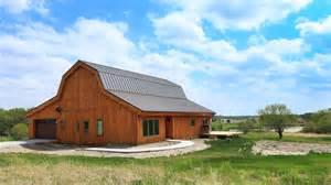 Gambrel Barn Homes by Barn Wood Home Great Plains Gambrel Barn Home Project