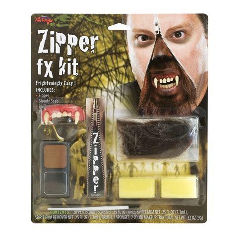 tutorial deluxefx werewolf makeup kit deluxe makeup vidalondon