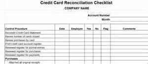 list of business credit cards procedures for small business checklist