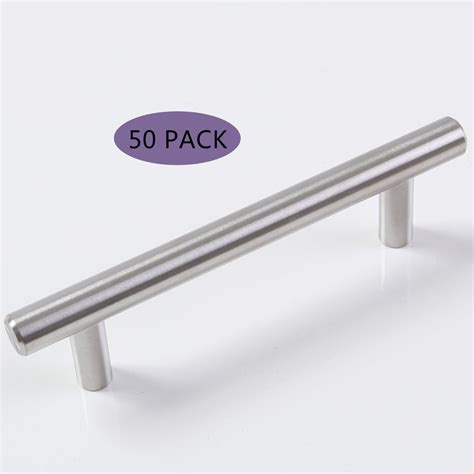 kitchen cabinet bar pull handles 50 x 6 quot satinless steel t bar kitchen cabinet drawer pulls