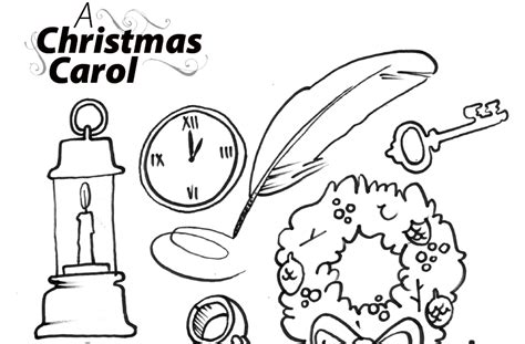 a carol coloring book colouring page for a carol the belfry theatre