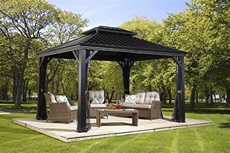 hardtop pavillon 3x4 gazebo the garden and patio home guide