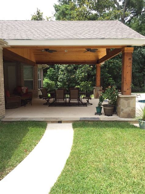 How To Build A Patio Cover Attached To House by Top 25 Best Attached Carport Ideas Ideas On