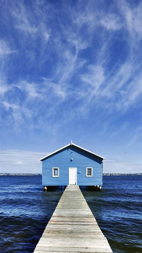 i have a blue house with a blue window lyrics blue house on sea best htc one wallpapers free and easy to download