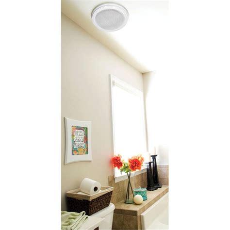 home netwerks bath fan home netwerks decorative white 100 cfm bluetooth stereo