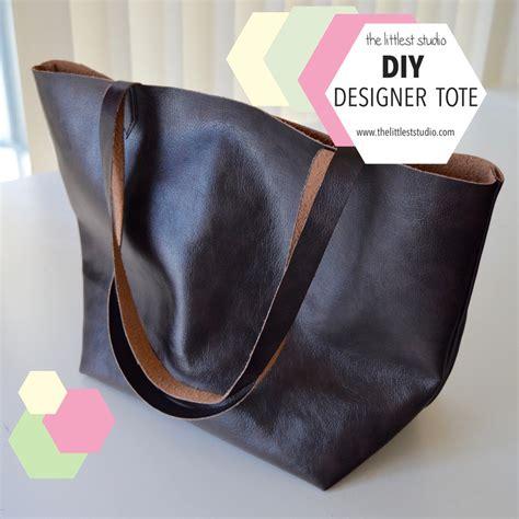 Tas Simple Bag Tote Bag diy designer tote bag the littlest studio