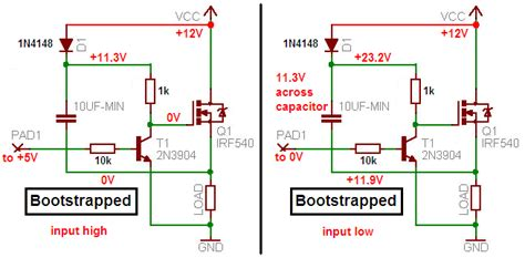 bootstrap transistor driver charge controller project power switching renewable energy innovation