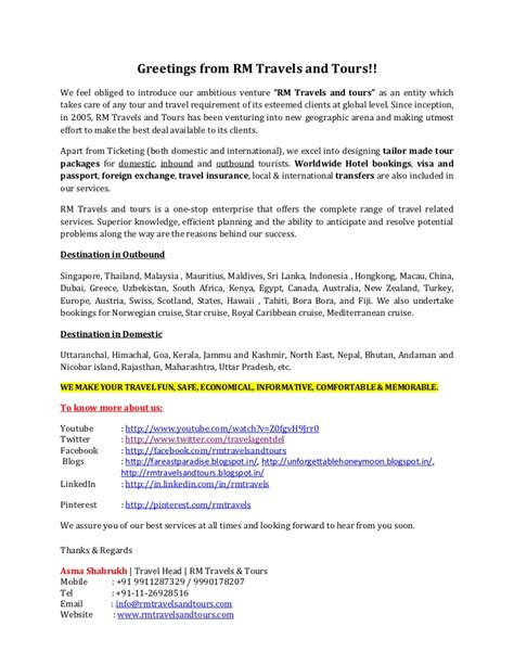 Hotel Business Introduction Letter thank you letter for business travel proyectoportal