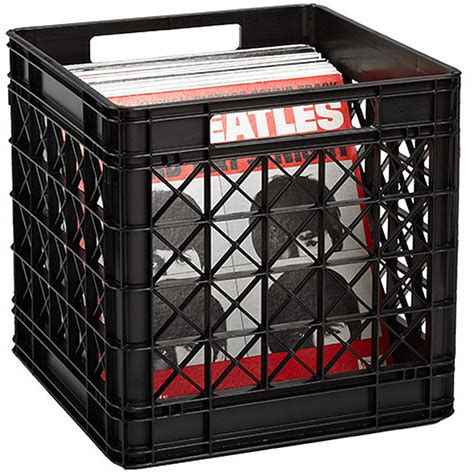 record album storage containers vinyl record storage crate the container store