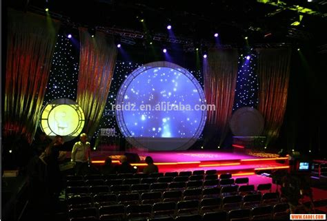 stage curtains with led lights stage with curtains and lights images