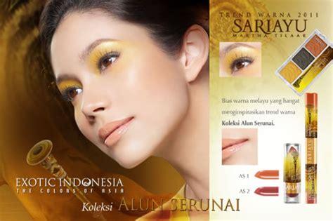 Eyeshadow Sariayu Dendang Rebana look of sariayu indonesia the colors of asia