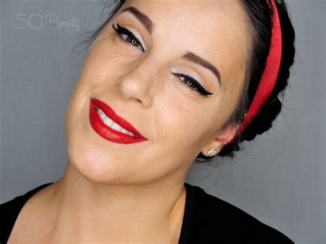 imagenes pin up maquillaje maquillaje cl 225 sico pin up silvia quir 243 s
